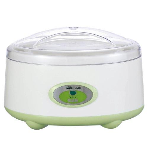 Bear小熊 酸奶机 SNJ-10A (加送4个分杯内胆,绿色,亚马逊订制)-图片