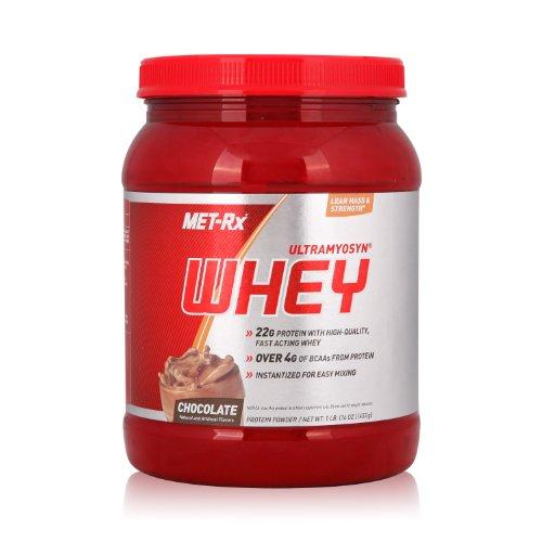 MET-Rx 美瑞克斯 Ultramyosyn乳清蛋白粉固体饮料(巧克力味)453g(进口)-图片