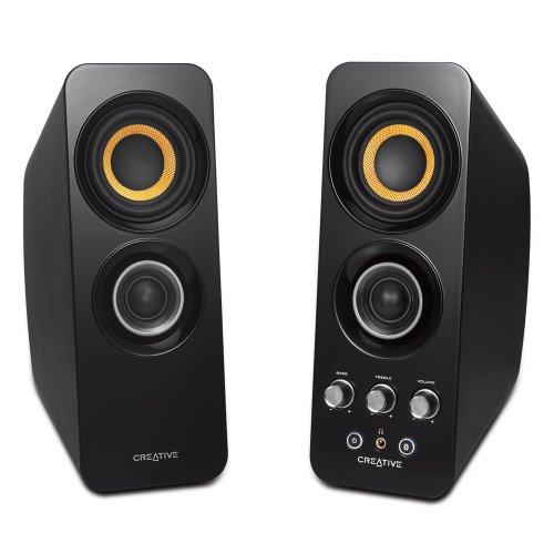 Creative 创新  T30 Wireless蓝牙音箱(黑色)-图片