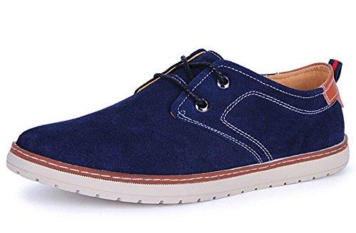 Guciheaven 古奇天伦 反绒时尚英伦风商务休闲鞋 简约低帮驾车鞋 系带运动鞋男鞋