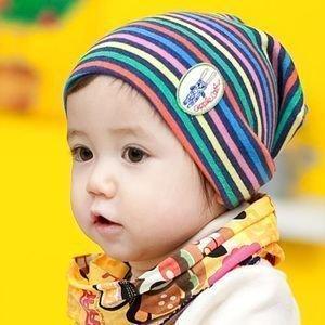 春秋宝宝帽子卡通可爱保暖婴儿小baby休闲