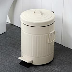 创意罗马纹带盖垃圾桶脚踏家用厨房桶