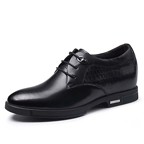 秋季男士内增高商务休闲皮鞋6.5厘米 915267