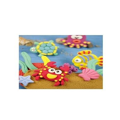 海绵黏土動感的海底世界-粘土套装
