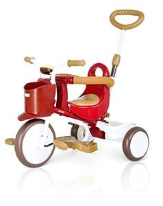 日本 IIMO 三轮童车红色