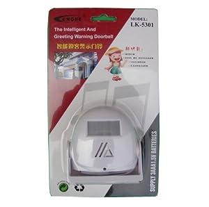 电子红外线迎宾器报警器 欢迎光临迎客门铃感应器 防盗器(带1.