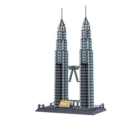 著名建筑吉隆坡双子塔
