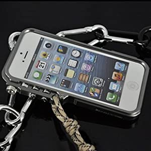 luphie 璐菲 iphone5手机壳 苹果5手机壳金属 5s边框