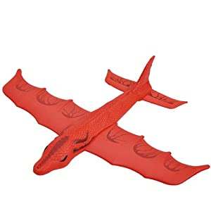 瑞奇比蒂 softoys户外玩具 eva投掷弹射飞机 恐龙战斗