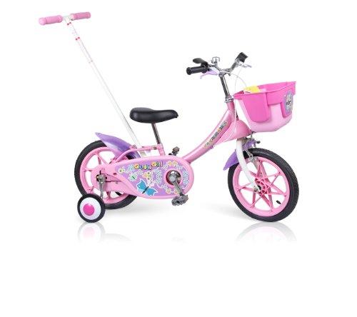 ides14寸儿童自行车(日本品牌)粉红色