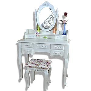 欧式壁挂梳妆镜现代化妆台卧室