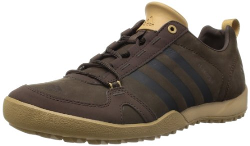 Adidas 阿迪达斯 DAROGA TWO 11 LEA 男 越野跑步鞋 G97028 野马棕/野马棕/工艺土黄F12 43.5 (UK 9.5)
