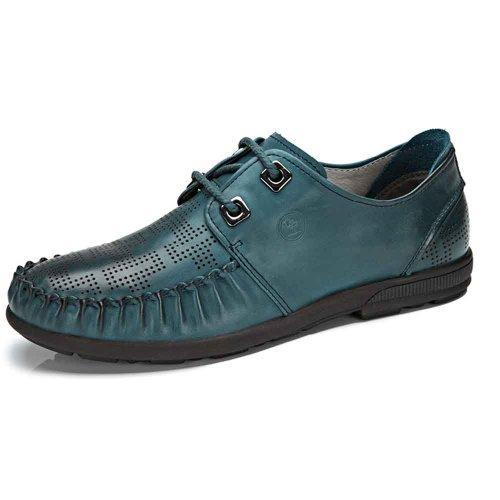 骆驼牌 男鞋 2014春夏新款 头层皮软面皮日常休闲 耐磨男鞋 W422045003