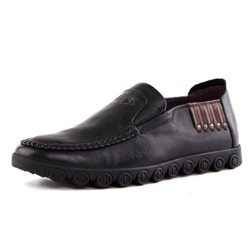 Tony Johnson/托尼琼斯 秋季新品透气牛皮休闲套脚驾车男鞋 Q5963325