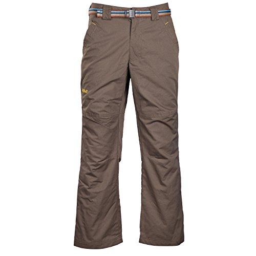 SnowWolf 雪狼 男式 埃伦保暖休闲长裤 6103302-X013 深军绿 175/78A-图片