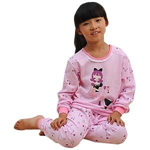纯棉儿童内衣套装女童秋衣秋裤套装长袖睡衣