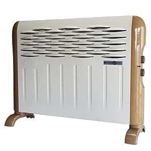 Airmate艾美特欧式快热炉HCW1853取暖器(亚马逊独家定制HC2038S升级版,温控、防水、即热、壁挂、1800W,送晾衣架),249元包邮