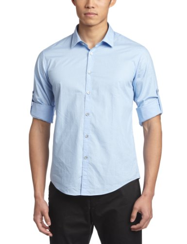 Esprit 埃斯普利特 男式 简约舒适纯棉长袖衬衫 RD3988F