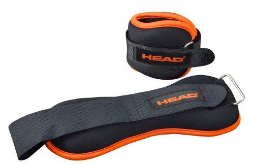 HEAD 海德 脚沙袋 NT278A  负重带 健身器材 世界顶级运动品牌 健身会所推荐 (3 千克)-图片