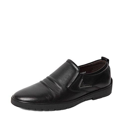 Senda 森达 森达秋季专柜同款打蜡牛皮男鞋专柜 FT103CM5