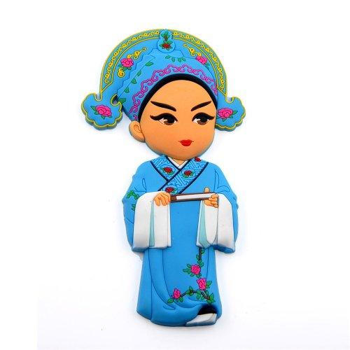 稻禾 稻禾创意卡通戏剧人物树脂磁性冰箱贴家居装饰贴节日送外国人