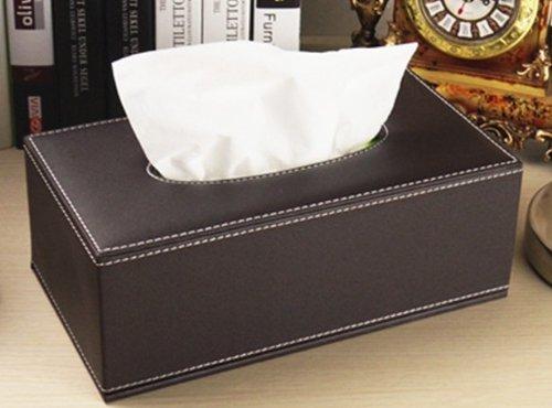 欧式经典简约时尚高档皮革纸巾盒