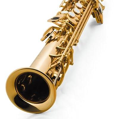 vibra 威柏尔 高音萨克斯风60lt降b调黄铜漆金原色珍珠精雕喇叭口 (金