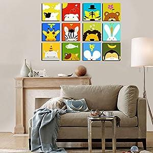 卧室客厅儿童房装饰画现代简约沙发背景