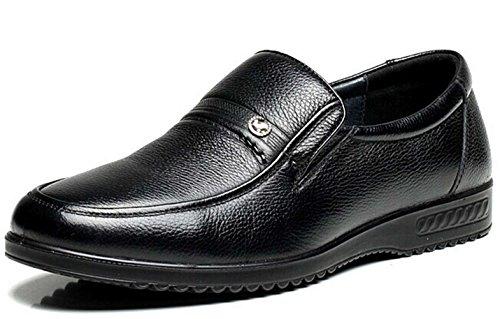 FGN 皮鞋 男士 时尚商务休闲皮鞋 型男正装鞋 套脚尊贵男鞋11490076