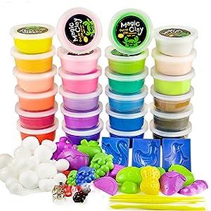 迪多乐 超轻粘土 24色彩泥 橡皮泥黏土 儿童彩泥玩具