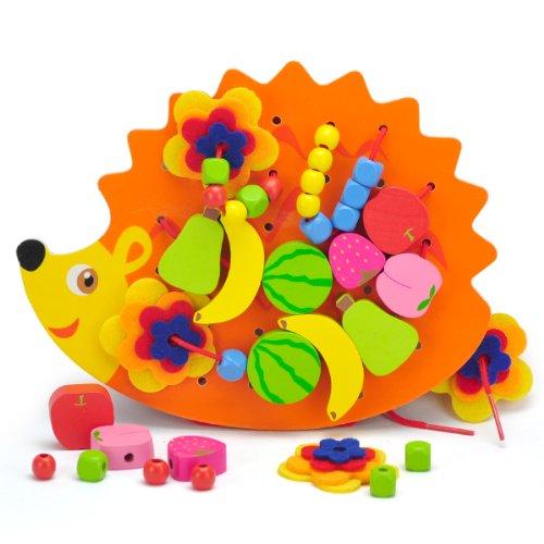 幼儿园女孩 京东第三方 德国贝乐多-毛毛虫游戏42块儿童益智游戏木制