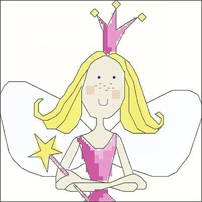 万众家园 十字绣 客厅卧室人物画 可爱卡通 小公主之头像 9ct 朵拉线