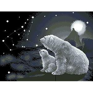 消失的家园绘画动物绘画北极熊