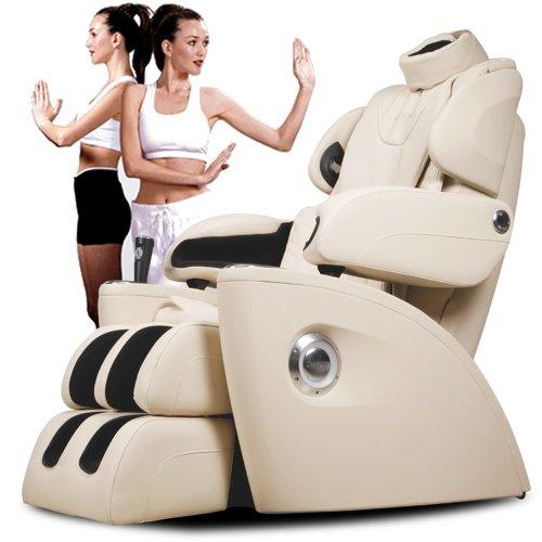 生命动力LP5400I零重力太空舱 家用全身豪华3D按摩椅 头部按摩 脚底滚轮 音乐同步按摩 (白色)正品特价包邮包安装  买就送:600元的抬上楼服务、168元的按摩椅专用地毯、168元的按摩椅专用防尘套-图片