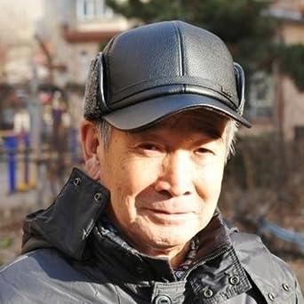 爸爸帽护耳保暖仿羊皮棒球帽中老年皮帽子男士冬季帽