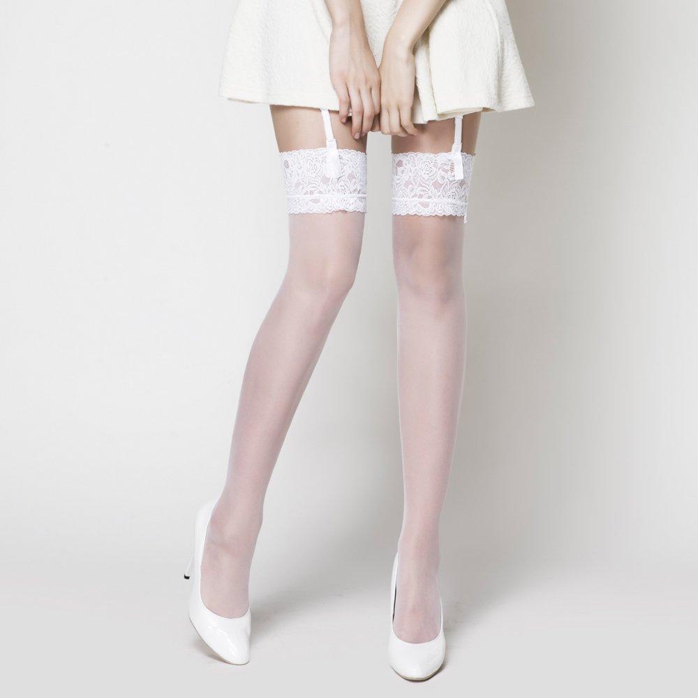 lovebox蕾丝花边性感丝袜