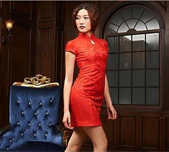 风拂2014新款时尚蕾丝旗袍 改良中式礼服 高端大气后开叉连衣裙