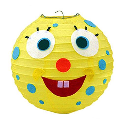 商品孩派 儿童生日 灯笼装饰 布置装饰 发光灯笼 可爱卡通diy灯笼