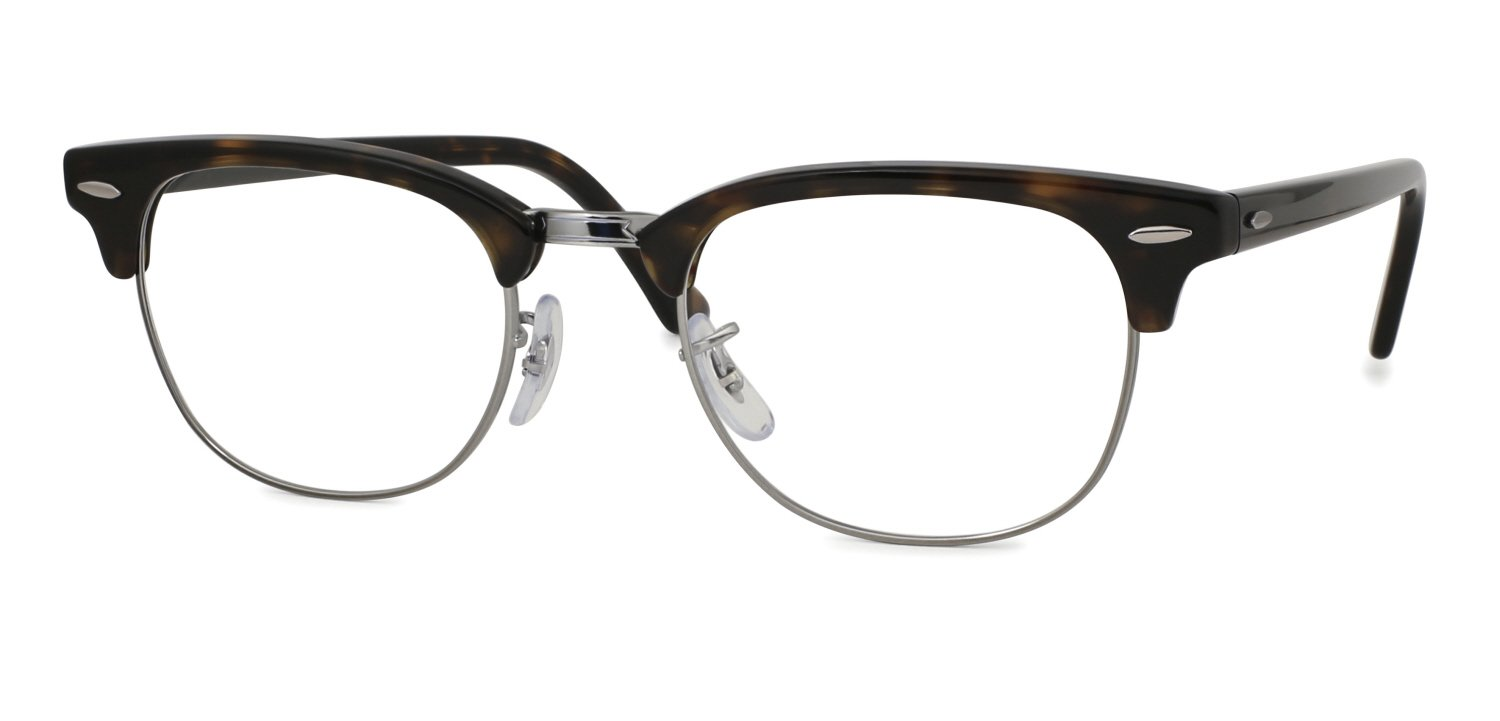ray ban black gold clubmaster  rx5154 clubmaster