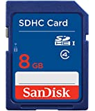 SanDisk闪迪SDHCClass48GSD卡(新老包装,随机发货)普通蓝卡