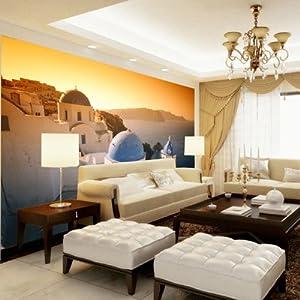 现代简修风格|欧式城堡大海电视墙