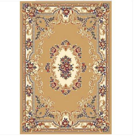 欧式美式后现代高密客厅地毯地垫 卧室书房奢华大地毯