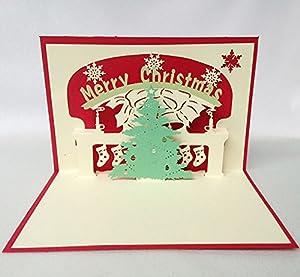 立体圣诞树剪纸_第2页_图解步骤