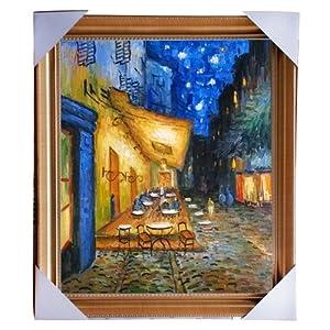 eapey 一品廊 手绘油画 风景油画 装饰画 凡高《 咖啡