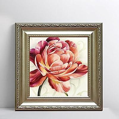 高档古典装饰画欧式花卉挂画美式客厅卧室