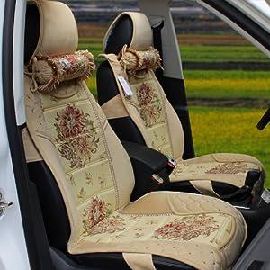 新款大众途安途观专用坐垫冬季毛绒 高清图片