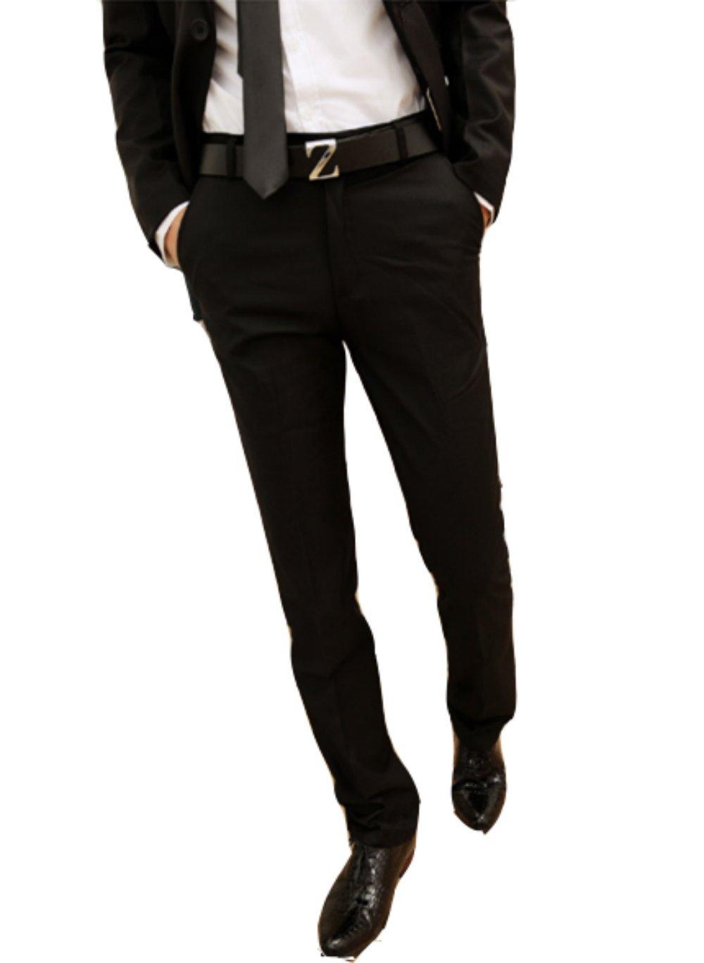 homme 新款男士西裤 韩版修身商务休闲直筒西裤 商务男士必备款 高