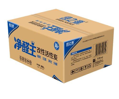 绿之源 净醛王活性炭6000g(除甲醛除味去味专用 室内装修空气净化活性炭碳包 去甲醛120平米)-图片
