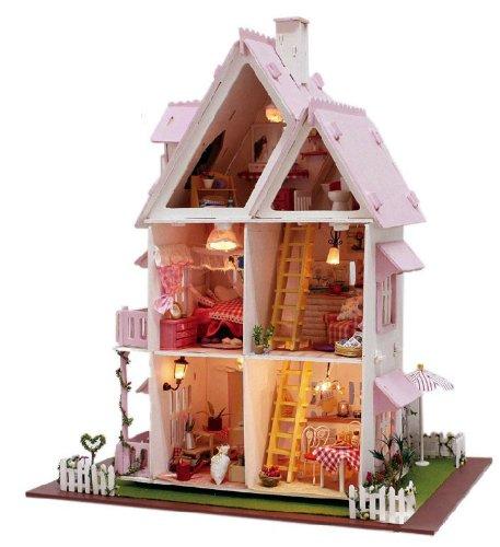 手工拼装 模型小房子