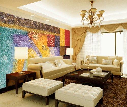 ceselavie 塞拉维 大型壁画壁纸壁布沙发卧室宾馆大型墙纸壁画欧美图片